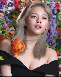 Korean Beauty Girls, Cute Korean Girl, Asian Beauty, Kpop Girl Groups, Kpop Girls, Korean Celebrities, Celebs, Oh My Girl Yooa, Twice Jungyeon