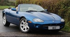 My 2nd XK8, 16 years old but only 15,000 miles after 1 owner, stored and almost unused for 12 years (now almost like new)..... Now I know what it must have been like in 1998 to pay out £60,000, drop the hood and drive off into the sunshine