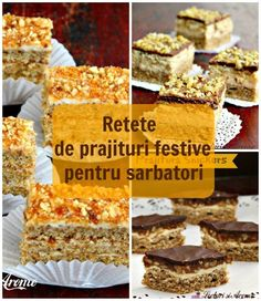 "Prajitura ""O noapte la Venetia"" - Lecturi si Arome My Recipes, Cake Recipes, Romanian Desserts, Top 15, Cooking Challenge, Summer Rolls, Pie Dessert, Food Cakes, Sweet Treats"