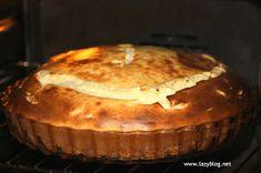 Lazy Blog: Tarta de queso al horno. Receta sencilla de postre