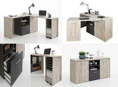 Picture 10 of 12 Space Saving Furniture, Home Office Furniture, Home Office Decor, Multipurpose Furniture, Multifunctional Furniture, Corner Pc Desk, Fold Out Desk, Small Home Offices, Tiny House Design