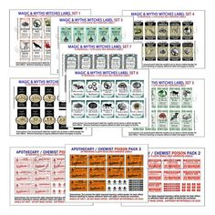 miniature haberdashery printables - Google Search: