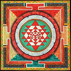 Shiva #Shakti Energy represented in the Sri Yantra #Mandala