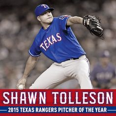 Shawn Tolleson - the 2015 Texas Rangers Pitcher of the Year