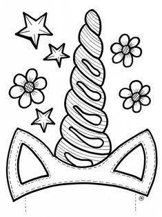 Kindertraktatie eenhoorn / unicorn in beker (incl. sjabloon) | traktatie kinderfeestje zelf maken | Wat zal ik trakteren?