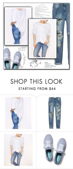 """""""beau.ti.ful"""" by fashion-pol ❤ liked on Polyvore featuring One Teaspoon, Katie and Keds"""
