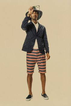 Engineered Garments Spring 2015 Menswear - Collection - Gallery - Look 1 - Style.com