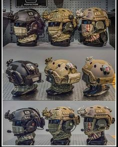 👍Helmet collection 👊Tag us your collection - Airsoft - raspel Tactical Helmet, Tactical Wear, Airsoft Helmet, Tactical Clothing, Tactical Equipment, Military Equipment, Armas Airsoft, Special Forces Gear, Combat Gear