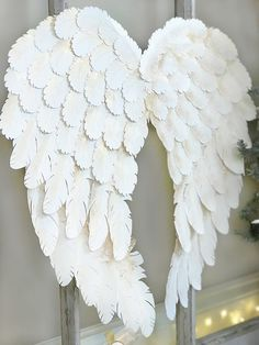 Looking for the perfect way to add Christmas spirit to your home this year? Try this Holiday Angel Wing Tutorial for a gorgeous set of paper wings!