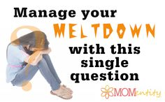 Some days in motherhood are really hard. How to manage yourself after a meltdown.