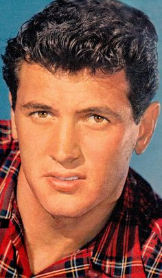 Gorgeous ROCK HUDSON Photoplay clipping 1950's. (Minkshmink collection)