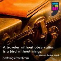 A Traveler