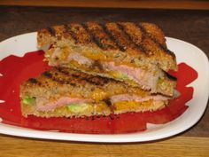 Steak, Avocado and Cheddar Panini- 340 calories - Lose Weight By Eating | with Audrey Johns