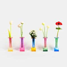 The Mellow Original Design Vase is a joyful gradient color home decor paying homage to the light.