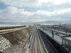 Estación del tren en Segovia