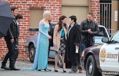 Colin, Jared, Emilie, Georgina, Ginnifer and Josh - Behind the scenes of 4 * 7. #Ouat, 23 september 2014