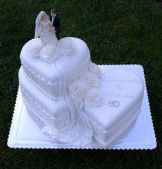 Wedding cake by AndyCake - http://cakesdecor.com/cakes/299264-wedding-cake