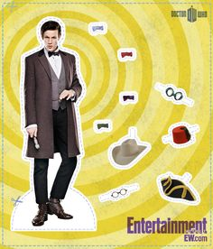 Doctor and his wardrobe. I'm not involved with the whole Dr Who craziness (although I probably should watch it some day) but this is so silly it's excellent.