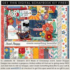 "FREEBIE ""Create Something Beautiful""--- but you must type in aewitl2013 in the Coupon Code Box  (not the gift certificate box) to get it FREE before checking out."