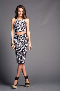 Cool aztec prints!