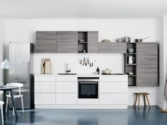 ONLY for context: our kitchen will have all appliances on one wall - sink, dishwasher, oven, cooktop and fridge. Busy!