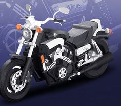 FREE PDF cut templates and instruction download motorbike VMAX - | Paper Crafts(Origami) - Entertainment | YAMAHA MOTOR CO., LTD.