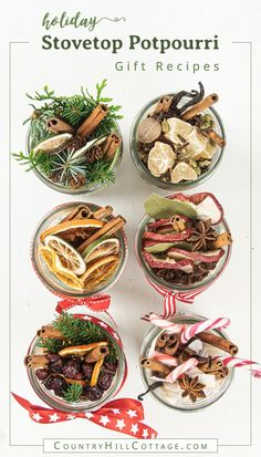See how to make a DIY stovetop potpourri gift that make your house smell like Christmas. Dry potpourri recipes are wonderful homemade holiday gift ideas. Homemade Potpourri, Potpourri Recipes, Homemade Gifts, How To Make Potpourri, Stove Top Potpourri, Simmering Potpourri, Fall Potpourri, Mason Jar Gifts, Mason Jar Diy