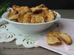 Chips di zucchine Cucina vista mare