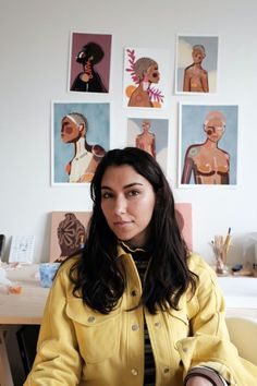 Mafalda Vasconcelos // contemporary artists // female artists to know Fela Kuti, Baby Chickens, Great Women, Kinds Of People, Film Photography, Contemporary Artists, Identity, Wall Decor, Female