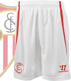 セビージャ 14/15シーズン用レプリカゲームパンツ。 主にホームとして着用されるモデル。