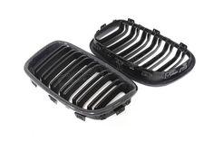 BMW F21 F20 Carbon Fiber Front Grille Pre LCI Dual Slats (1)