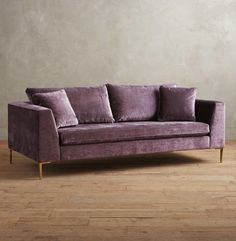 lilac velvet sofa outstanding anthropologie edlyn slub lavender casa brooklyn light grey cream living room most comfortable sectional the world and board deep couch small sets Crushed Velvet Living Room, Cream Living Rooms, Chesterfield Sofa, Air Sofa Bed, Circle Sofa, Deep Couch, Pink Velvet Sofa, Sofa Design, Interior Design