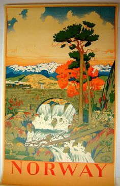 Norway poster - looks Japanese?