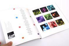 DOT - annual theater catalog by Ayça ZUNAL KIRIMKAN, via Behance