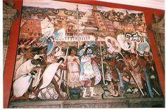 Diego Rivera Murals at the Palacio Nacional - Mexico City, Mexico