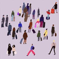 Illustrations of Maria Sann To Go, Illustrations, Movie Posters, Movies, Art, Art Background, Film Poster, Films, Illustration