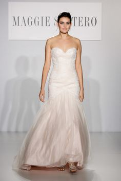 Maggie Sottero Bridal Fall 2014 Pink