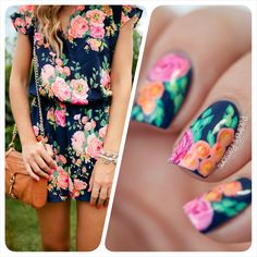 Rose-Nail-Art-Inspired-by-Dress-Paulina's-Passions