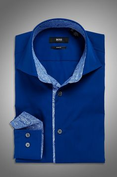 Now the 60's pattern are already mainstream, but the Floral design on the Collars and Cuff's make this shirt Rare & Very Special..