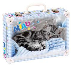 Školní kufřík malý - 33x23x10cm č. 21737 HK Malý Roztomilý malý kotě spí Diaper Bag, Suitcase, Bags, Handbags, Diaper Bags, Mothers Bag, Briefcase, Bag, Totes