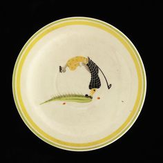 Saucer | Cooper, Susie | V&A Search the Collections