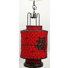 Oriental Furniture Chinese Lantern