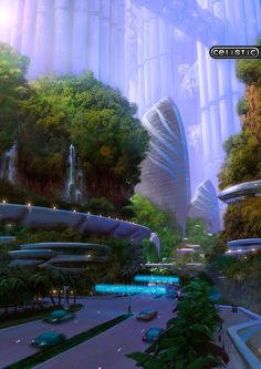 Futuristic City, Future Architecture, Celistic Concept Art by Zellim on deviantART