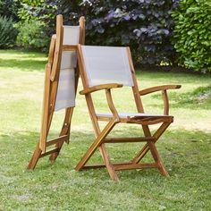 Lubok: Salon de jardin Teck huilé 10/12 pers - Table ovale 120 cm + ...