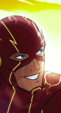 Allen by mariananaca on DeviantArt Flash Art, The Flash, Flash Barry Allen, Spiderman, Batman, Wally West, Marvel, Deathstroke, Dc Characters