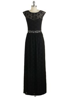 Rooftop Serenade Dress. For tonights romantic evening, you want to feel at-ease but look out-of-this-world. #black #prom #modcloth