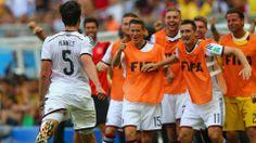 FIFA Worldcup Brasilien 2014™: Germany-Portugal - Mats Hummels  after scoring 2:0