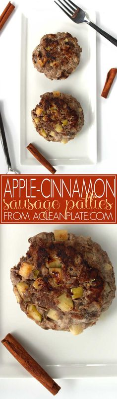 These Apple-Cinnamon Sausage Patties are my one of my favorite autoimmune protocol-friendly breakfast proteins. Ready in 30 minutes! Omit black pepper for strict AIP. Jalapeno Sausage Recipe, Aidells Sausage Recipe, Andoille Sausage Recipes, Johnsonville Sausage Recipes, Apple Recipes, Eckrich Sausage, Gluten Free Recipes For Breakfast, Paleo Breakfast, Paleo Food
