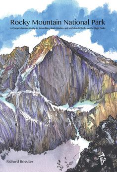 So Excited! Rocky Mountain National Park climbing guide book is going to be here this spring! I am preordering mine now. I may like guide books a bit too much. :-)