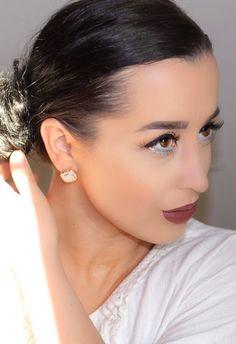 Champagne Gold Holiday Makeup Tutorial: Ashley Elizabeth Beauty